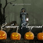 Sanctuary Playground Font Free