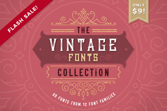 The-Vintage-Fonts-Collection