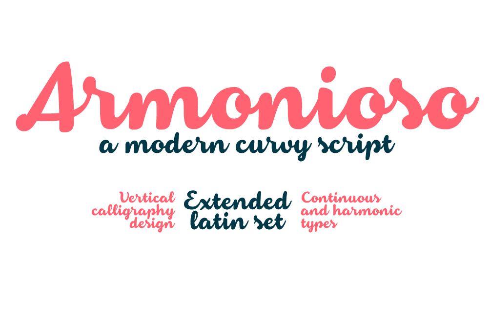 armonioso-fontcreated-in-2014-zetafonts