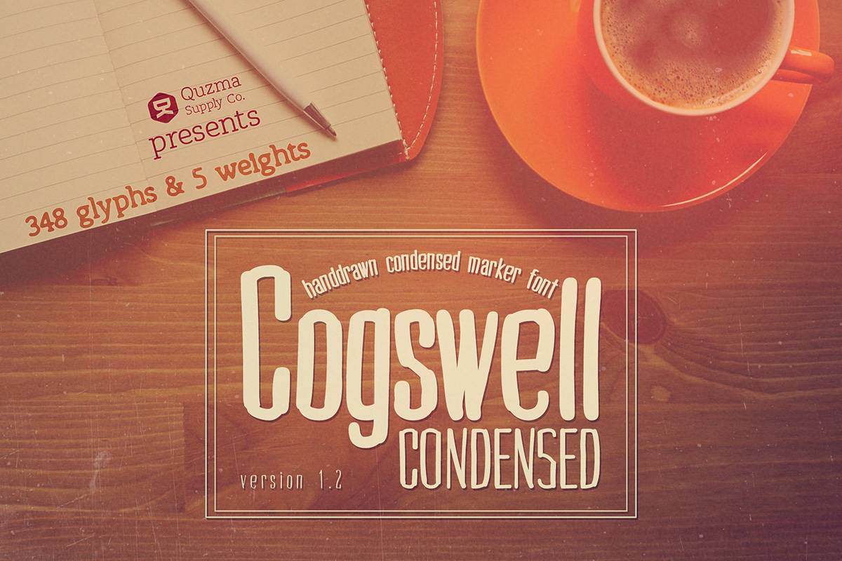 cogswell-condensed-font