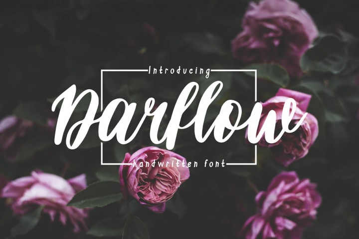 Darflow Handwritten Script Font - Free Fonts