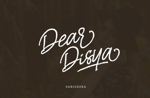 Dear Disya Script Font