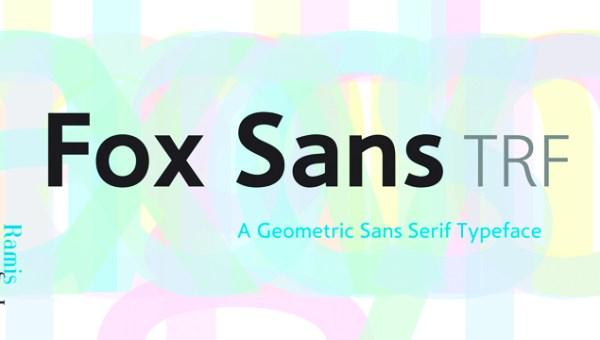 Fox Sans TRF Font Family