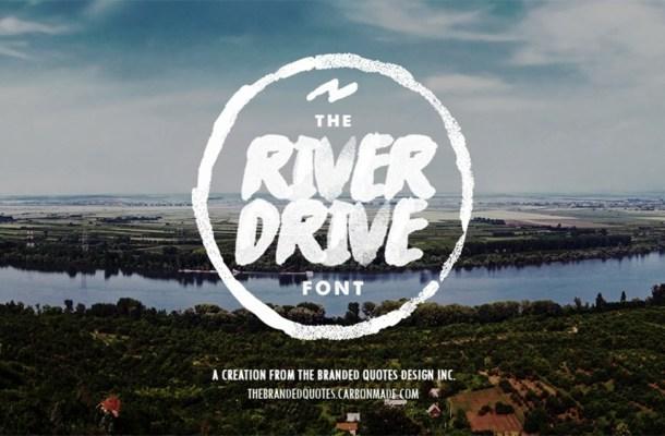 River Drive Free Font