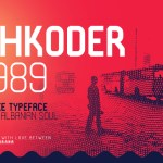 Shkoder 1989 Display Typeface