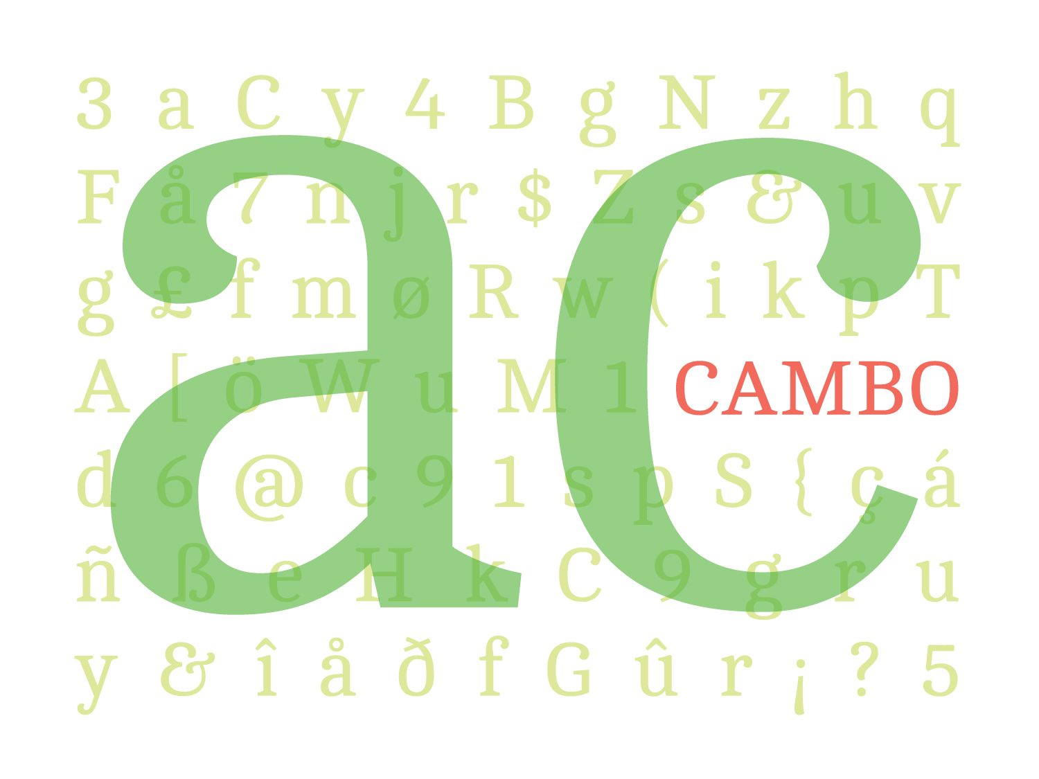 Cambo Font