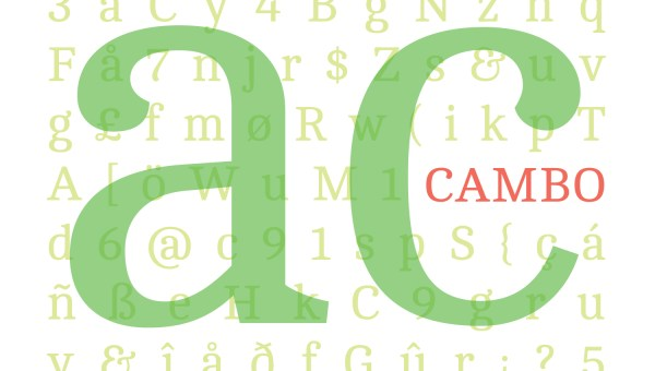 Cambo Font Download