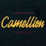 Camellion Brush Free Font