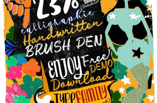 Enjoy Typeface Free Font