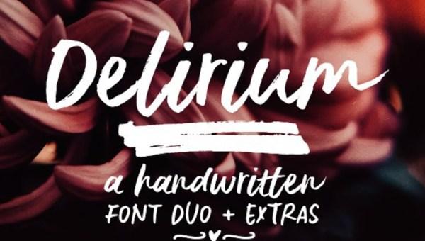 Delirium Brush Free Font