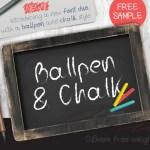 Ballpoint Free Font