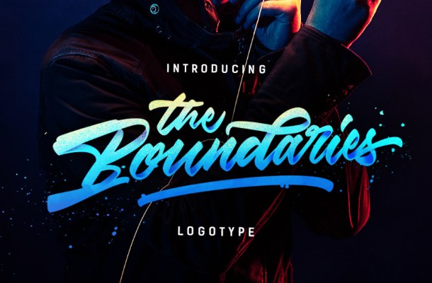 Boundaries Logotype Free Font
