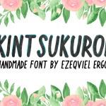 Kintsukuroi Free Handwriting Typeface