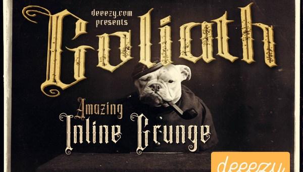 Goliath Display Font