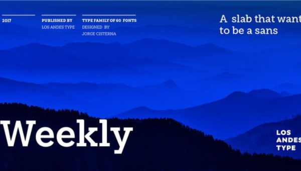 Weekly Slab Family Free Font