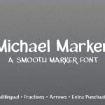 Michael Marker Free Font