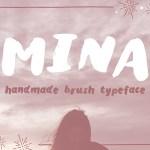 Mina Brush Free Font
