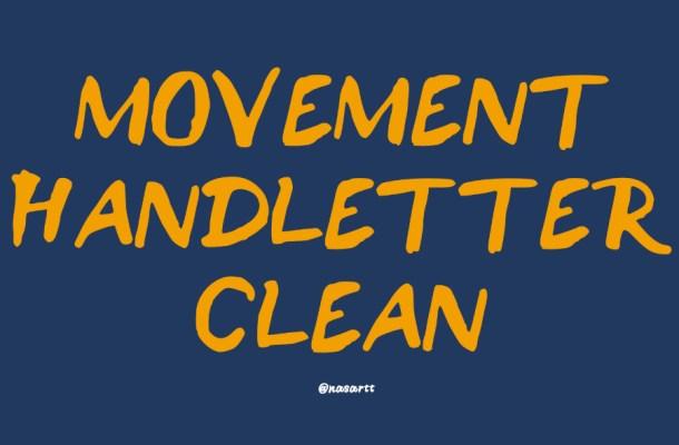 Movement Free Brush Font