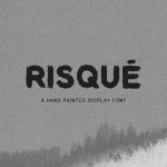 Risque Display Font