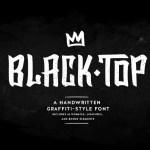 Blacktop Free Graffiti Typeface