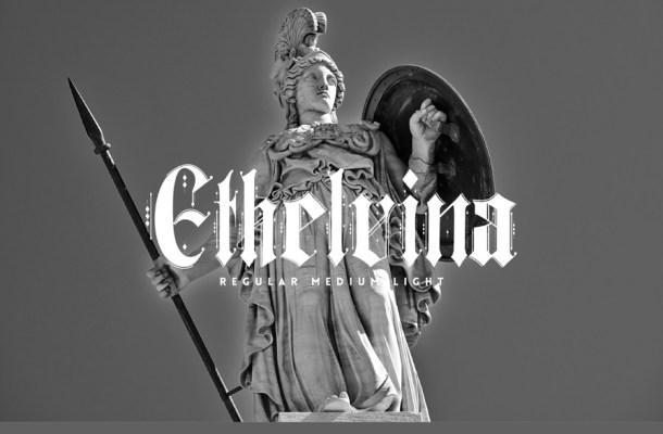 Ethelvina Gothic Font