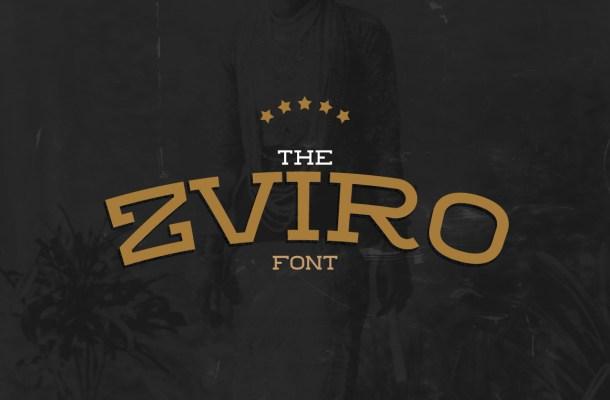 ZVIRO Slab Serif Font