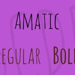 Amatic Font Family