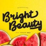 Bright beauty Font