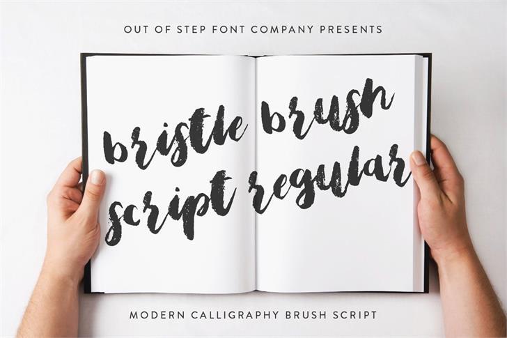bristle-brush-script
