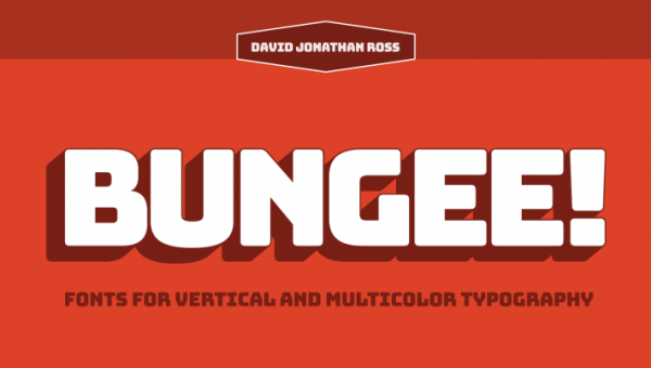 Bungee Font Family