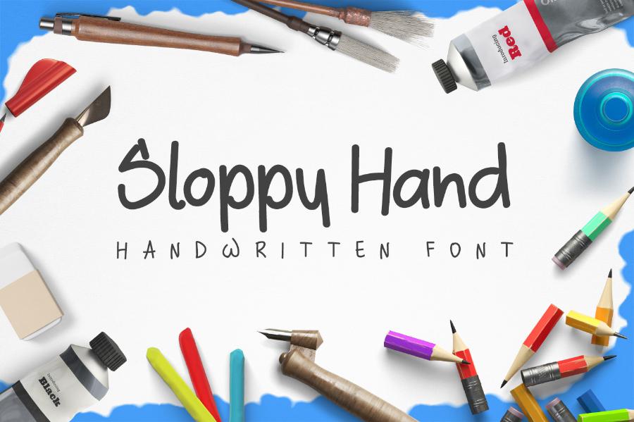 design-a-lot_sloppy-hand-free-font_261116_prev01