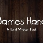 James Hand Free Font