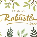 Rabusto Script Free Font