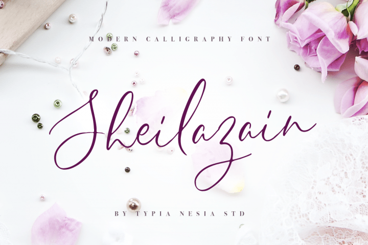 sheilazain-script-font