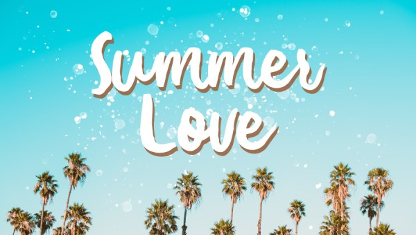 Summer Love Brush Font