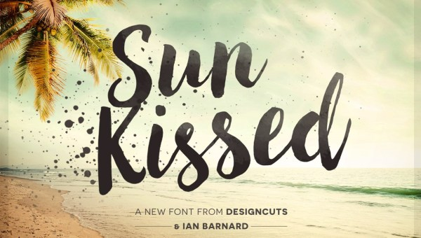 Sun Kissed Brush Font