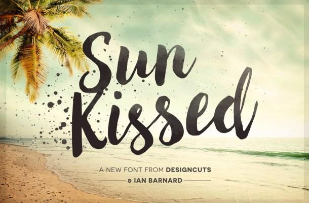 Sun Kissed Brush Font