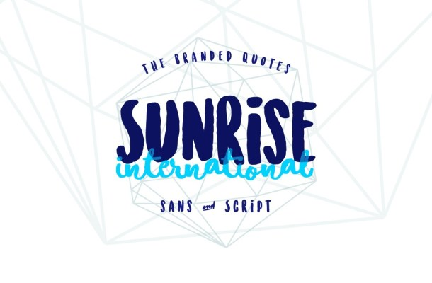 Sunrise International Free Font