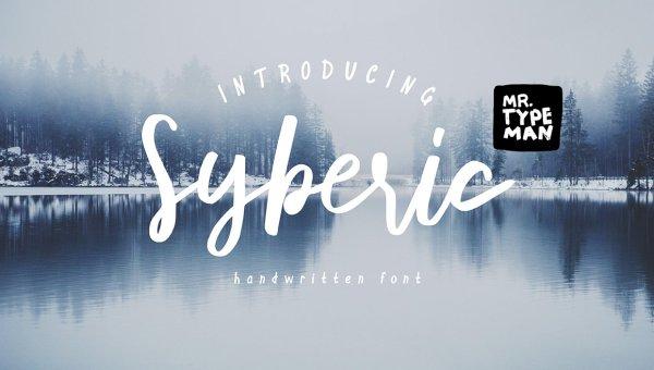 Syberic Script Font