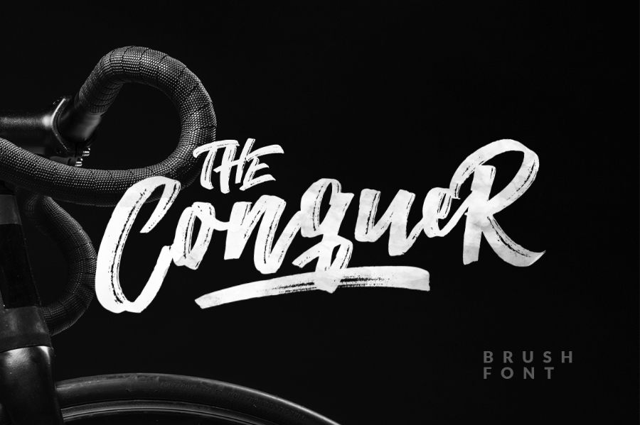 the-conquer-brush-typeface