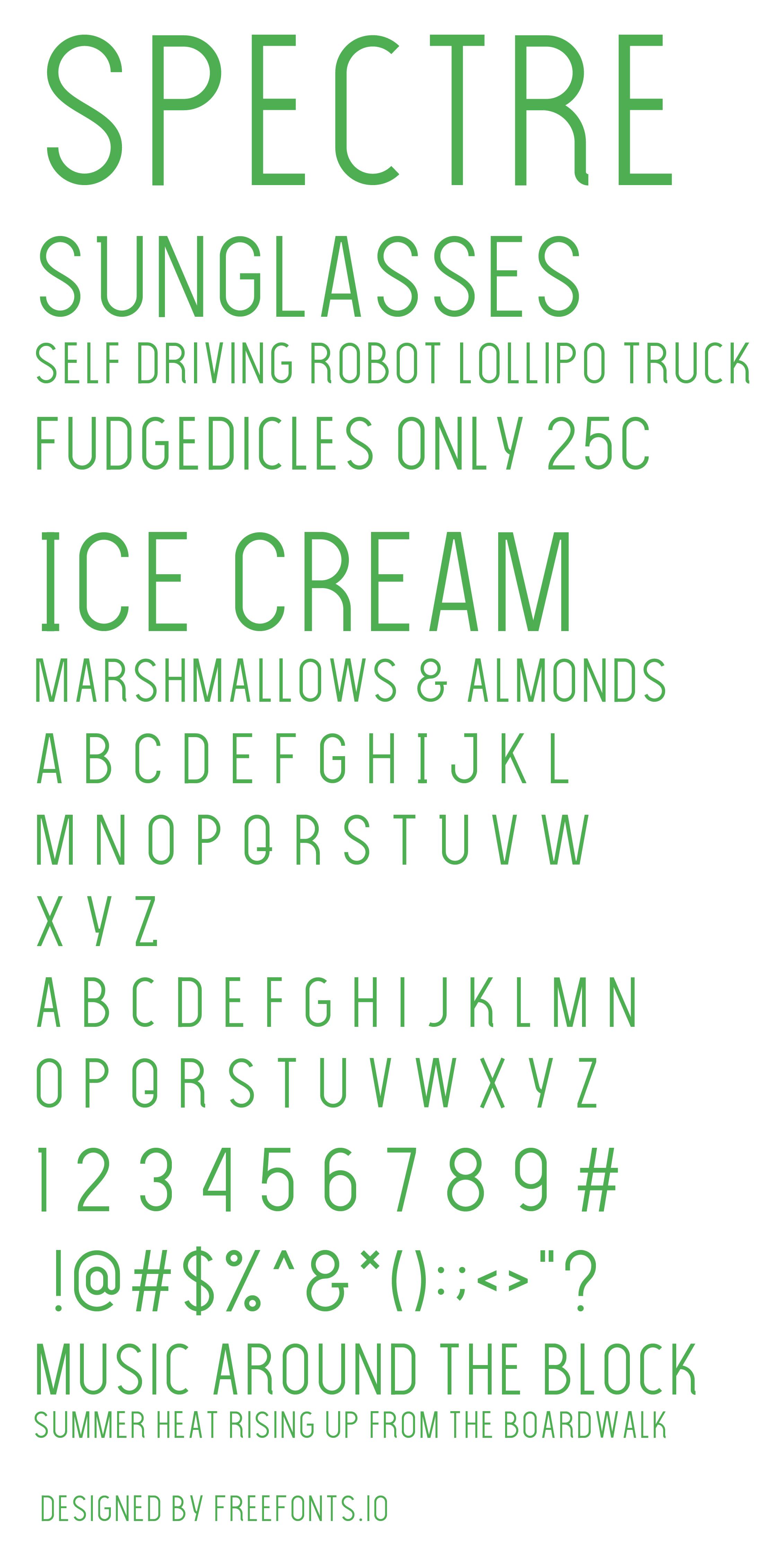 the light font full