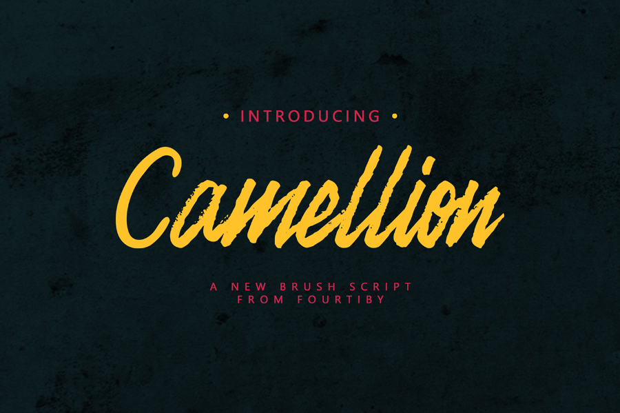 camellion-brush-font