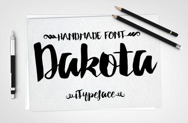 Dakota Script Font