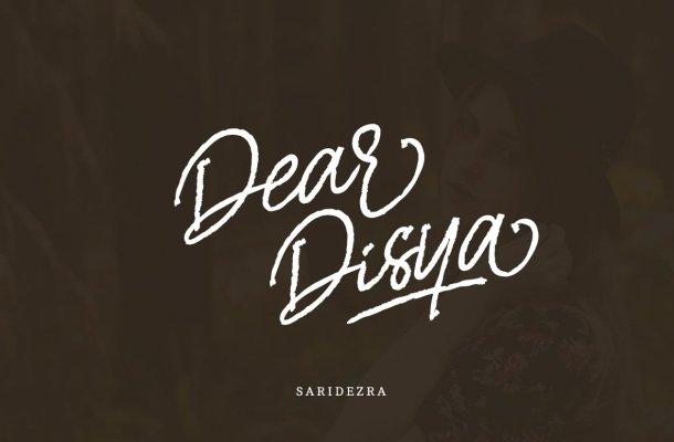 Dear Disya Script Font Free