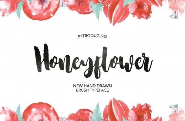 Honeyflower Script Font