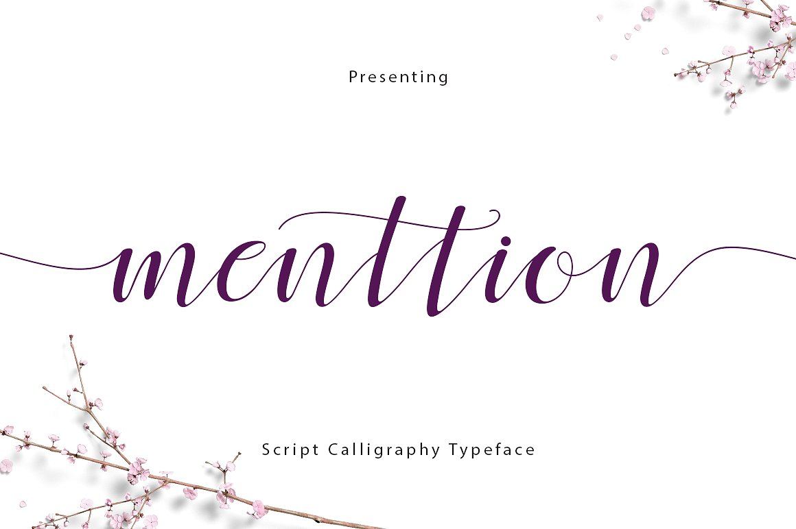 menttion-script-font