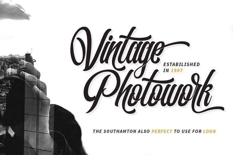 The Southamton Typeface