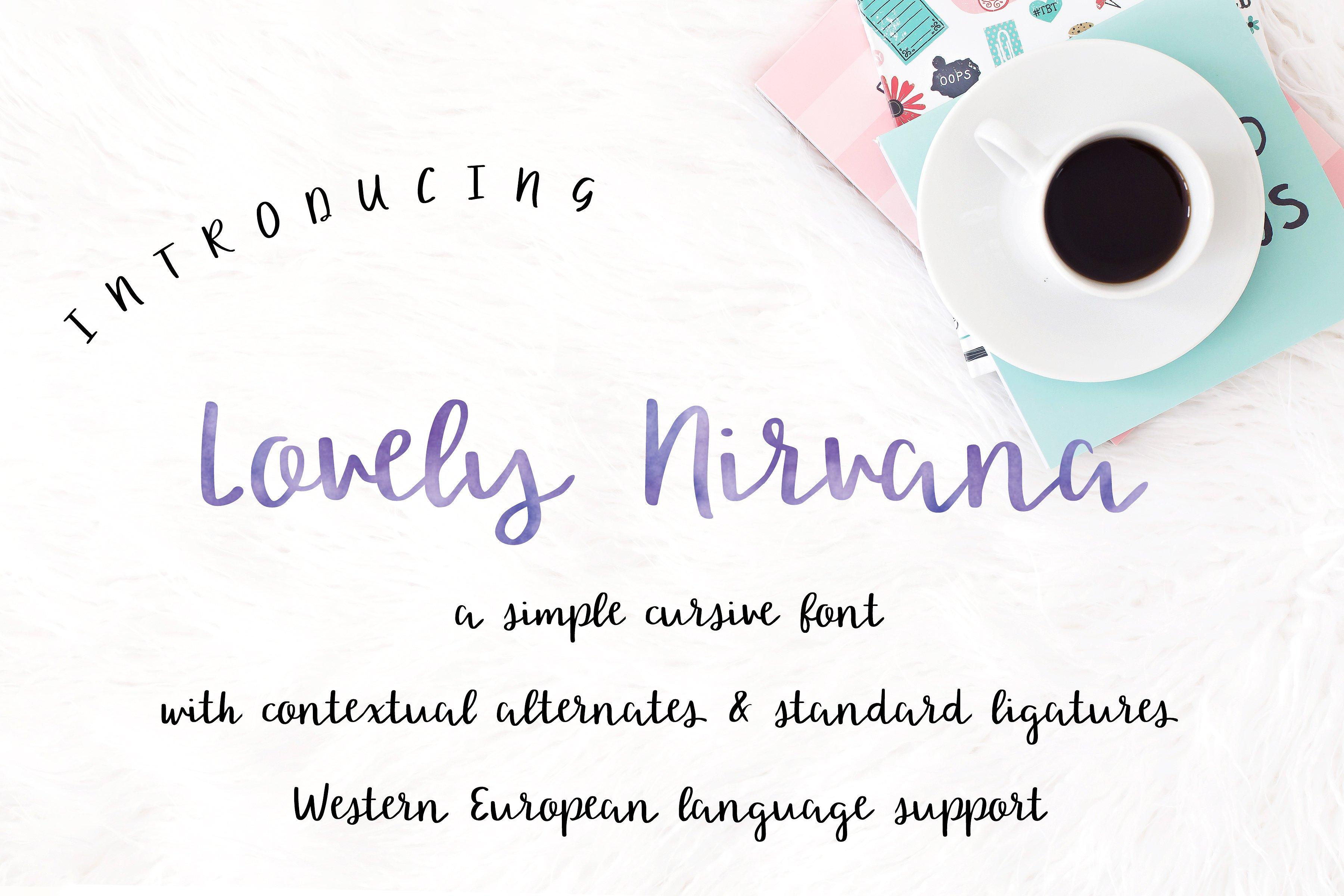 lovely-nirvana-script-font