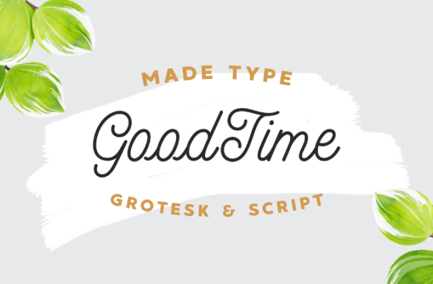 MADE GoodTime Typeface