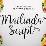 Mailinda Script Font